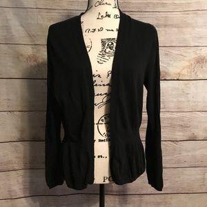Gap Size XL Open Cardigan Black